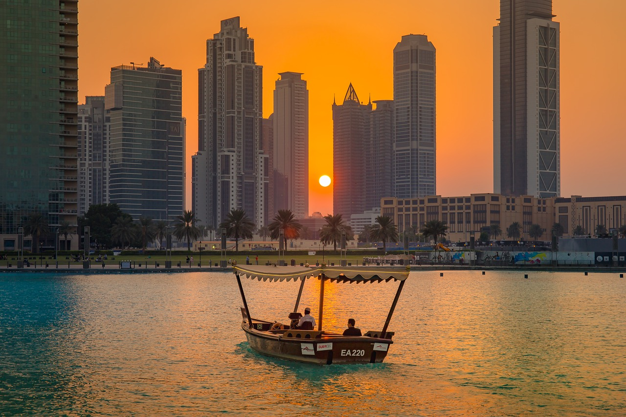 Dusk In Dubai